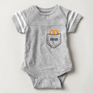 BITCOIN/POCKET-Onsie Baby Strampler