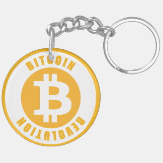 Bitcoin Revolution Schlüsselanhänger