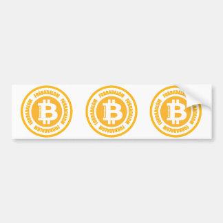 Bitcoin Revolution (ungarische Version) Autoaufkleber
