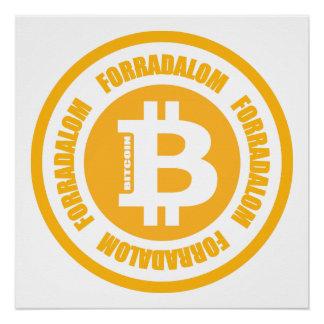 Bitcoin Revolution (ungarische Version) Poster
