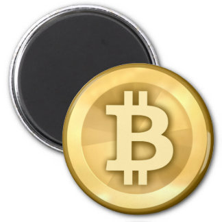 Bitcoin Runder Magnet 5,1 Cm