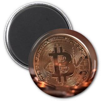 Bitcoin Runder Magnet 5,7 Cm