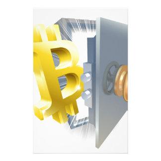 Bitcoin Safe-Illustration Briefpapier