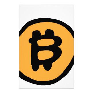 bitcoin Sammlung Briefpapier