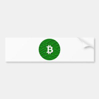 Bitcoin Währung Autoaufkleber