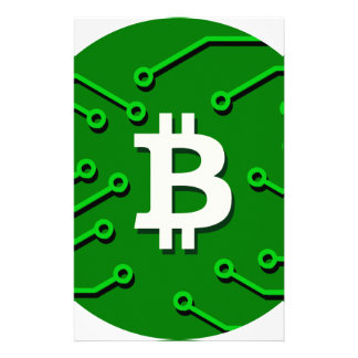 Bitcoin Währung Briefpapier