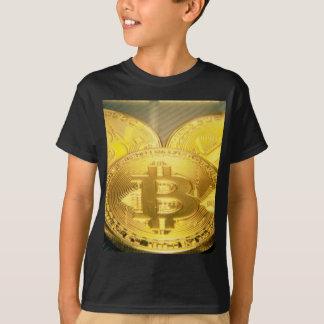 Bitcoins makro großes rundes mojo T-Shirt