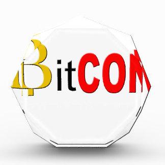 BitCON 3D Acryl Auszeichnung