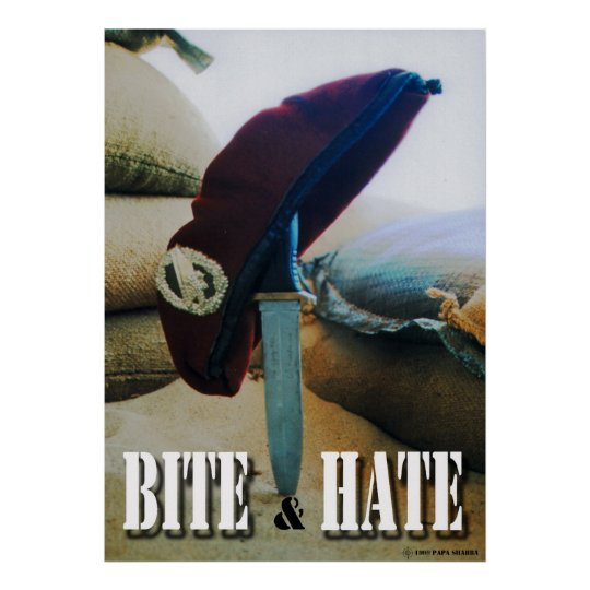 Bite & Hate Poster