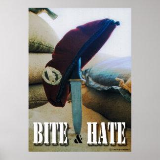Bite & Hate Posterdruck