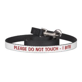 Bitte nicht Biss-Warnung tun der Touch-I Haustierleine