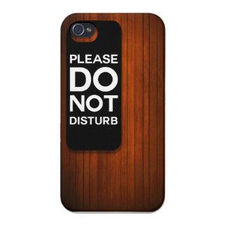 BITTE STÖREN SIE NICHT ETUI FÜRS iPhone 4