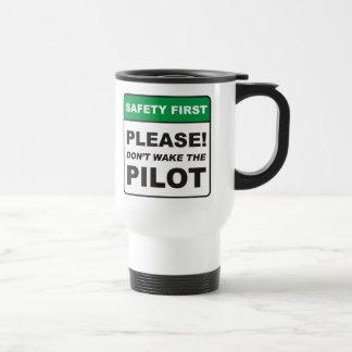 Bitte wecken Sie nicht den Piloten Reisebecher
