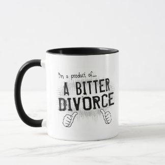 bittere Scheidung Tasse