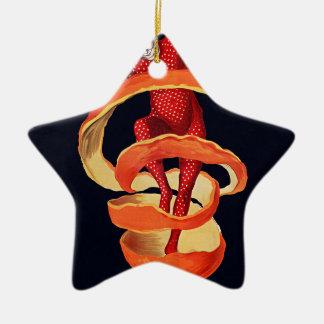 Bitterer Campari durch Cappiello Keramik Stern-Ornament