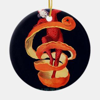 Bitterer Campari durch Cappiello Rundes Keramik Ornament