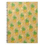 Bitty Ananas-Notizbuch