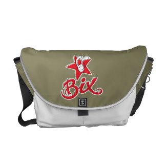 Bix Tasche!!! BixTheRabbit Logo! Kuriertasche