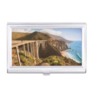 Bixby Brücke, großes Sur, Kalifornien, USA Visitenkarten Etui