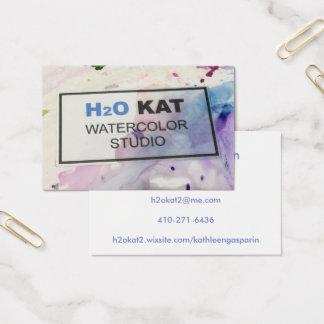 biz card large visitenkarte