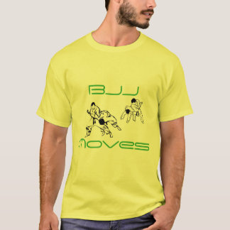 BJJ Bewegungen T-Shirt