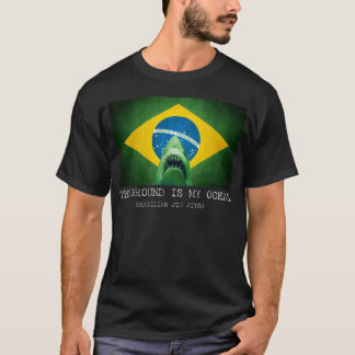 BJJ Brasilianer Jiu Jitsu der Boden ist mein Ozean T-Shirt