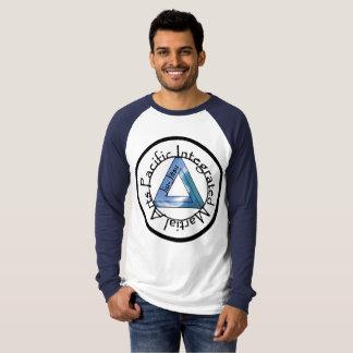 BJJ Raglan-Hülsen-langes Hülsen-Shirt T-Shirt