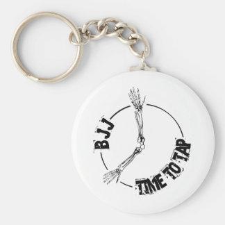 BJJ - Zeit anzustechen Schlüsselanhänger