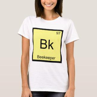 Bk - Imker-Chemie-Element-Symbol-Bienen-T-Stück T-Shirt
