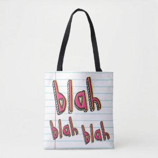 Blabla - Blabla Druck Tasche