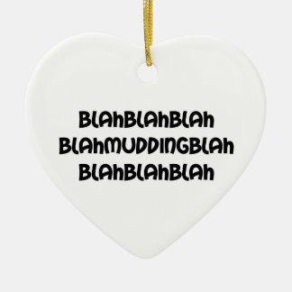 Blabla Mudding Blabla Keramik Ornament