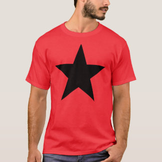 Black Anarchy Star (klassisch) T-Shirt