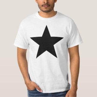 Black Anarchy Star (klassisch) T Shirt