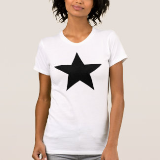 Black Anarchy Star (klassisch) Tshirts