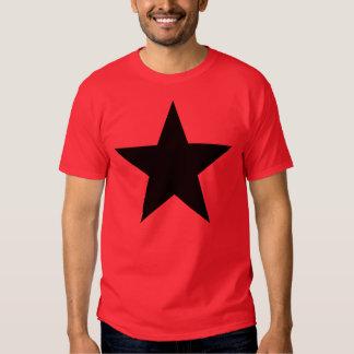 Black Anarchy Star (klassisch) Tshirt