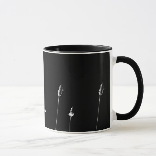 black and white minimal - Tasse / Kaffeebecher