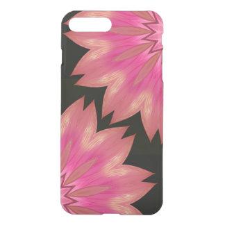 Black Blumenrosenand iPhone 8 Plus/7 Plus Hülle