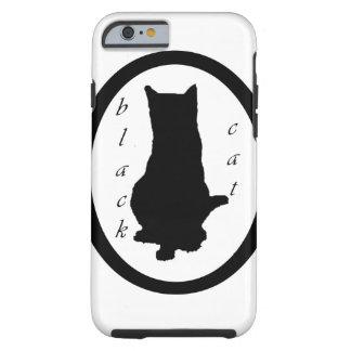 black cat tough iPhone 6 hülle