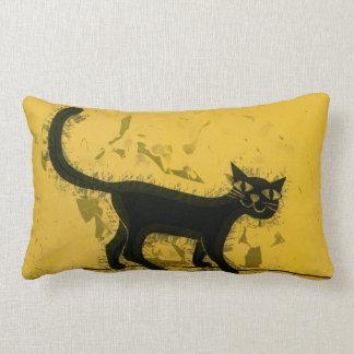 Black Cat Zierkissen
