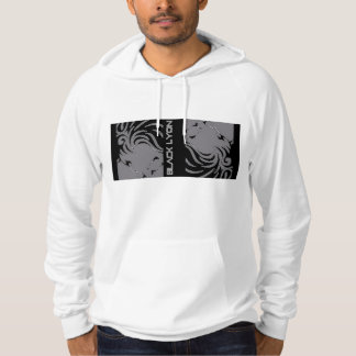 black for Lyon design kings- survival snow polar Hoodie