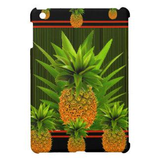 BLACK-GREEN HAWAIISCHER ANANAS-ENTWURF iPad MINI HÜLLE
