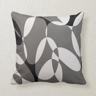 Black&Grey Oval-Kissen Kissen