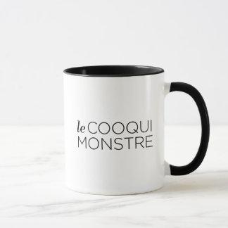 Black le Cooqui Monstre Tasse