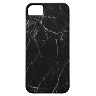 Black Marble Texture iPhone 5 Case