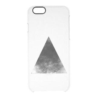 Black Triangle Durchsichtige iPhone 6/6S Hülle