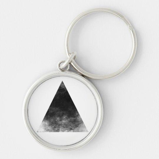 Black Triangle Schlüsselanhänger