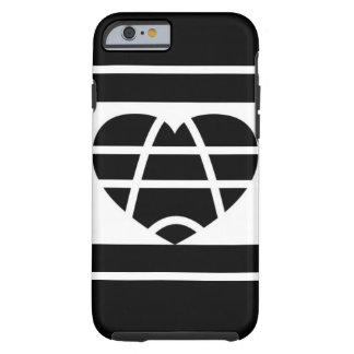 Black&white Liebe Tough iPhone 6 Hülle