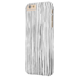 Black&White Striped Telefon-Kasten Barely There iPhone 6 Plus Hülle
