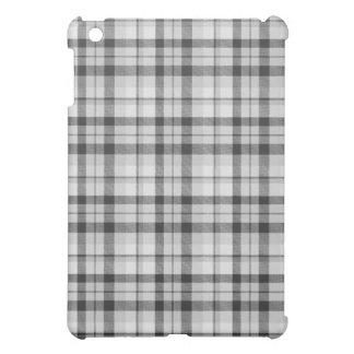 Black&white Tartan-Kasten iPad Mini Hülle