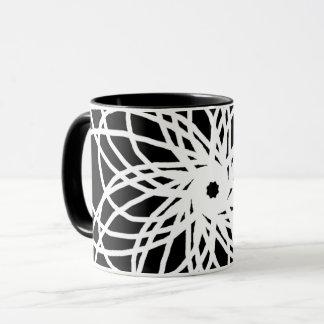 Black&White Tasse für einen eleganten Kaffee